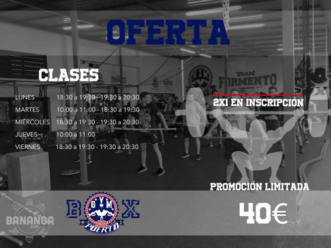 GYM PUERTO TEAM FORMENTO