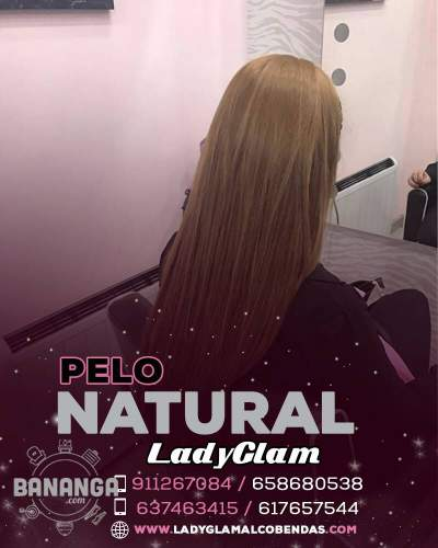 HERMOSO PELO INDIO TOTALMENTE NATURAL