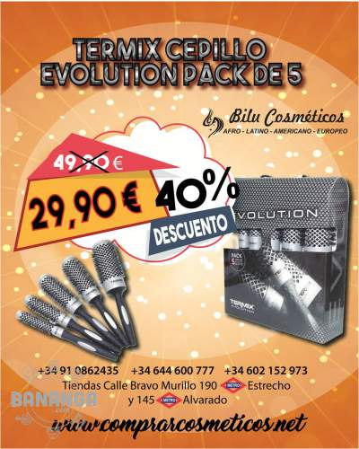EN BILU TERMIX CEPILLO EVOLUTION PACK DE 5