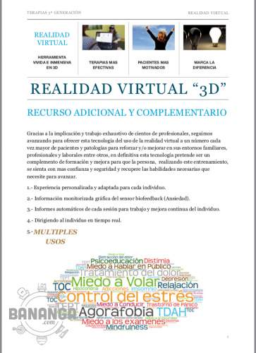 Terapias con Realidad Virtual
